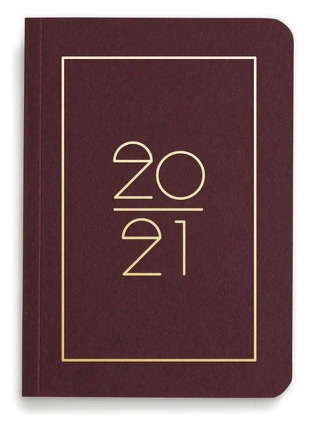 Pocket Planner 2021 Bordeaux