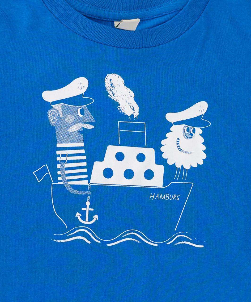 Jan & Jörn Kindershirt Bright Blue