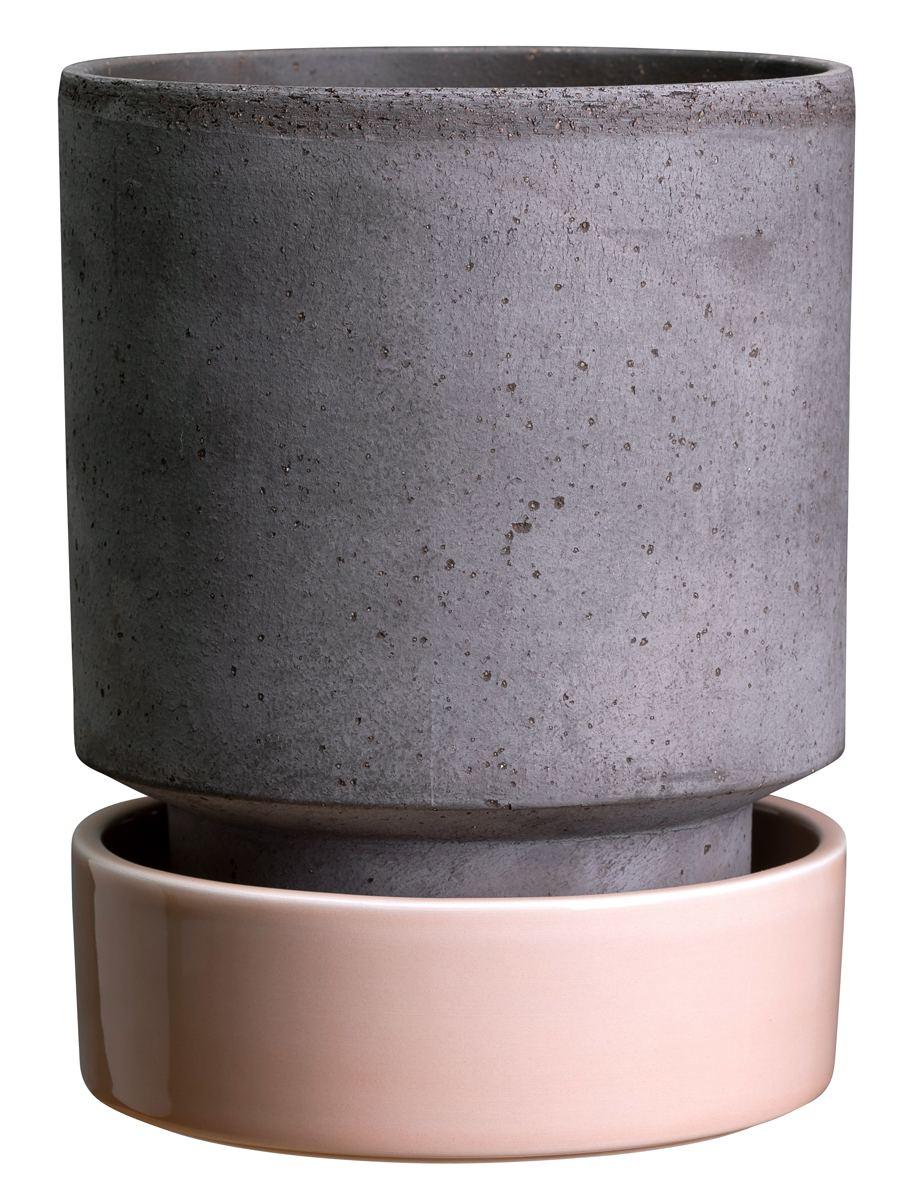 Hoff Pot Set Grey Quartz Rose (2 Größen)