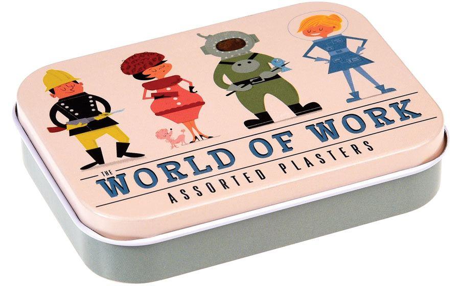 Pflasterdose World of Work