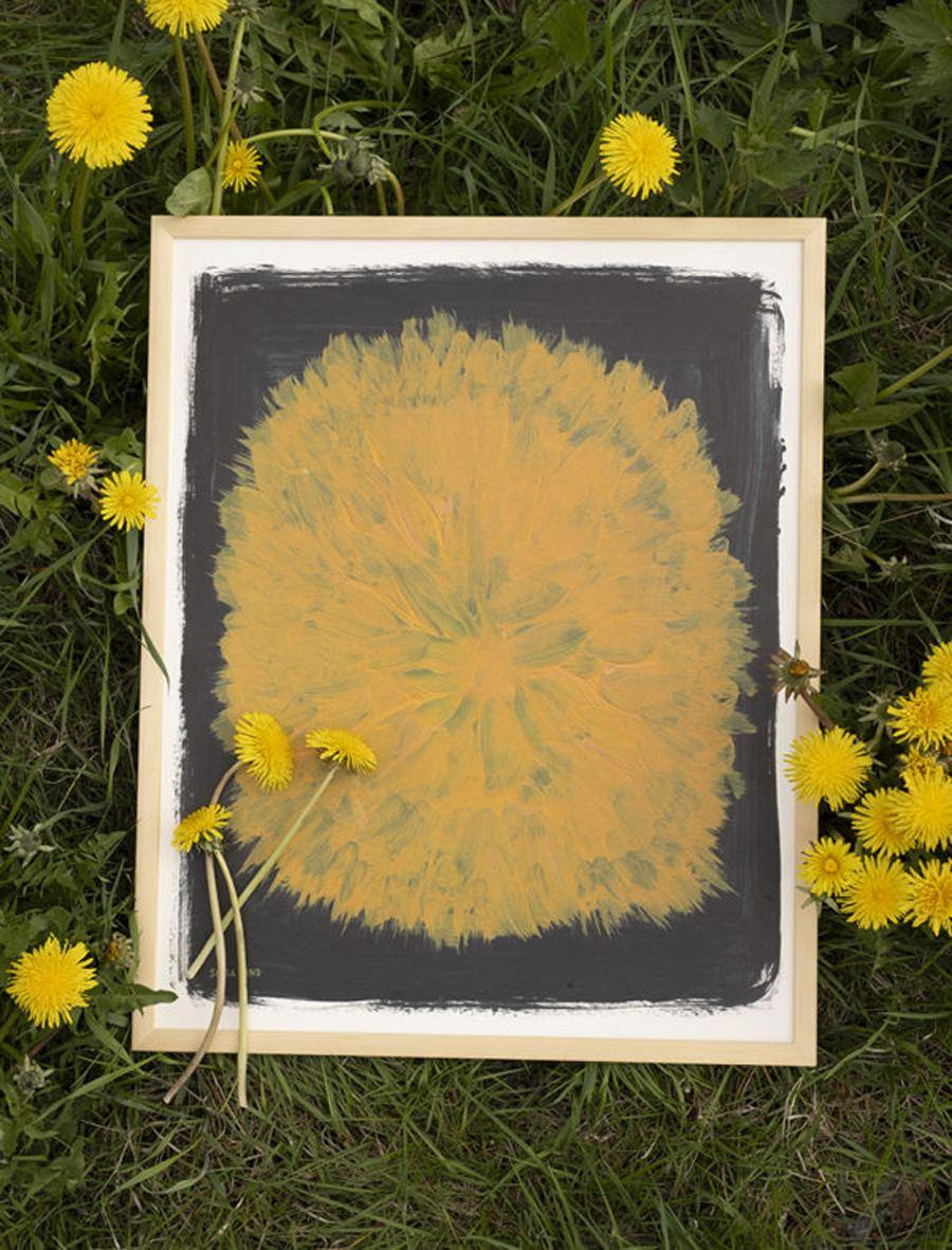 Dandelion Poster (40 x 50 cm)