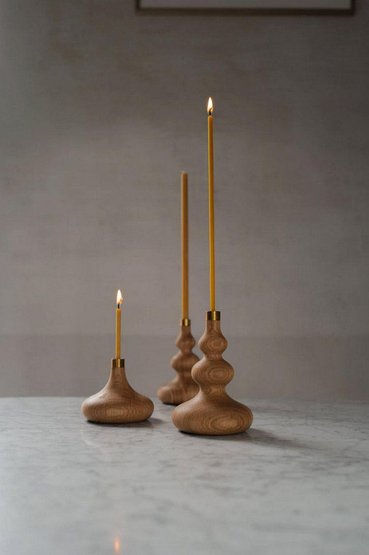 OVO Things Oak Tree Candle Holder