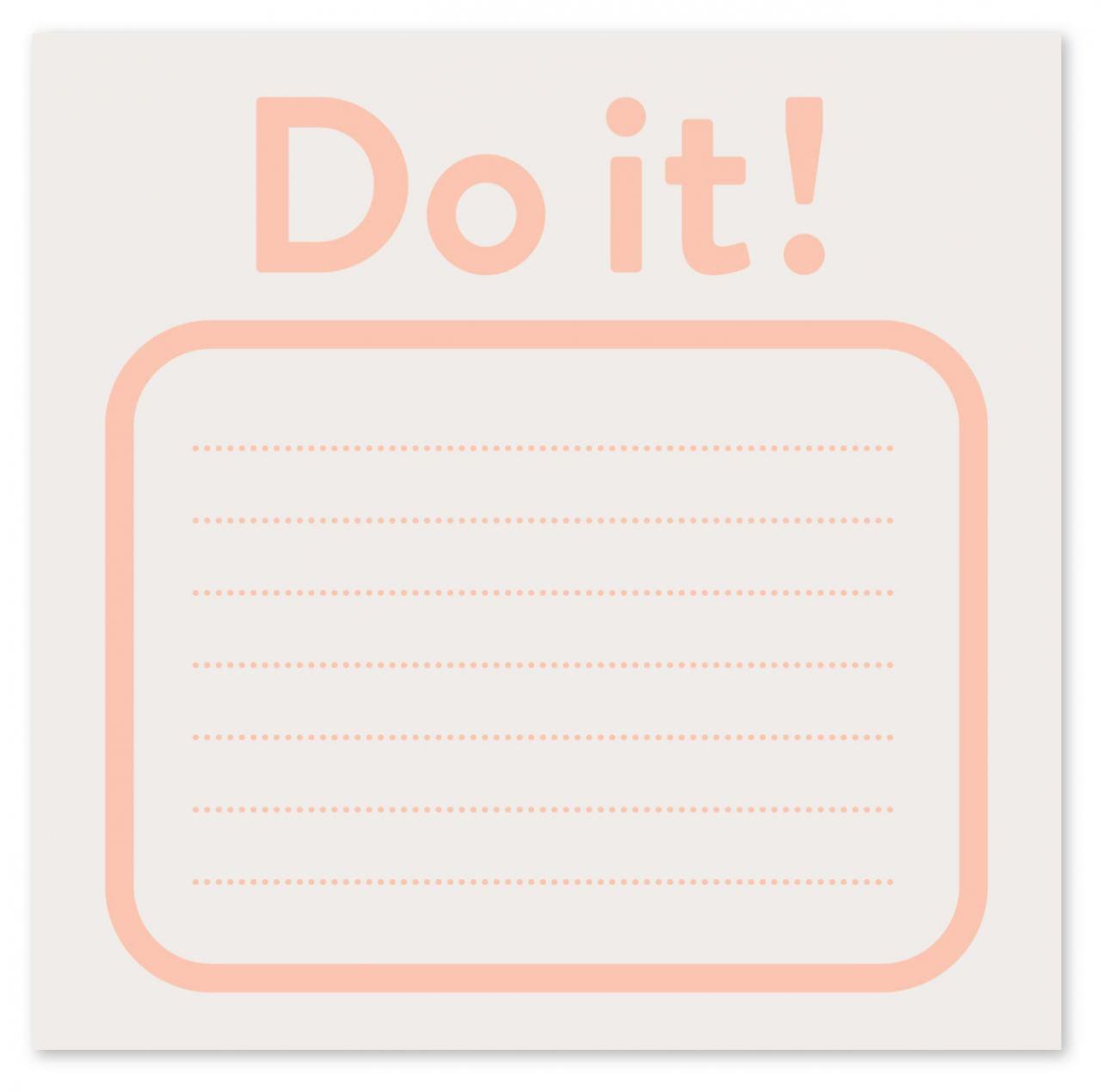 Do it! Block