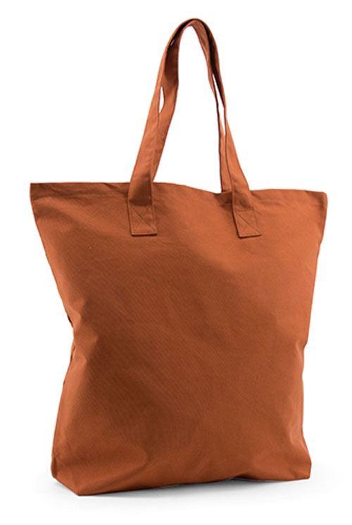 Shopper Baumwolle Rust