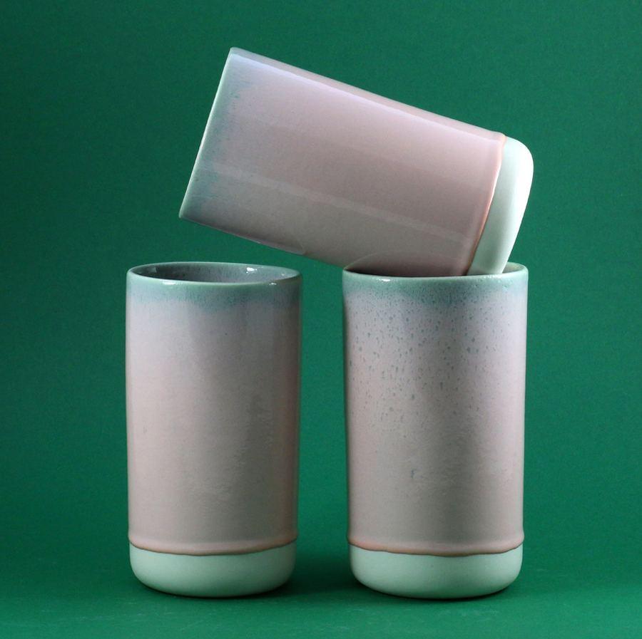 Stash Jar Pink Pistachio