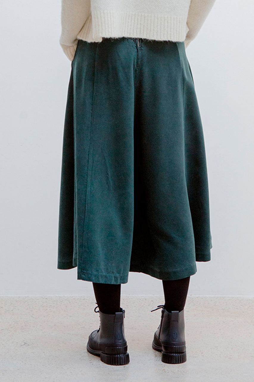 Ilam Culotte Tencel Dark Green