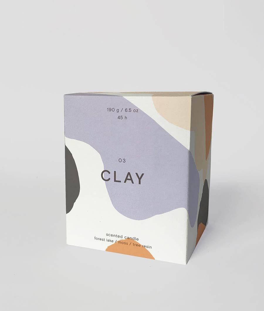 CLAY 03 Duftkerze - Wrap