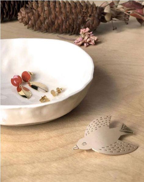 Collection Titlee x Donna Wilson Bird Brosche