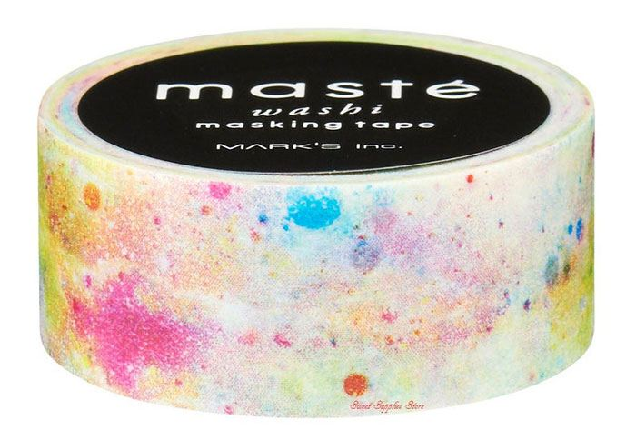Maste Tape City White Cosmic