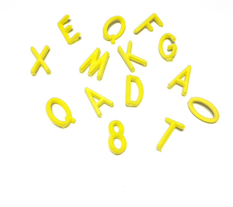 Yellow Letters