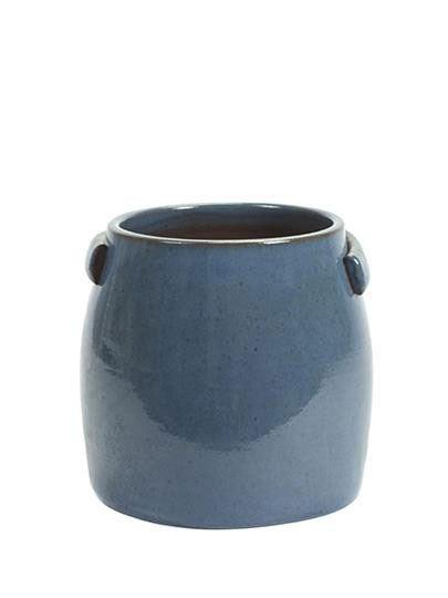 Topf Tabor M Blau D25 H24