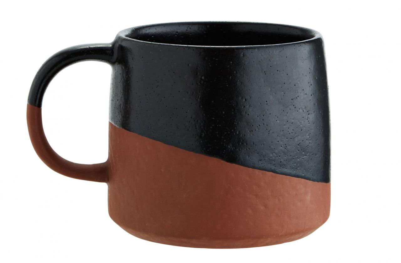Two Tone Tasse Black Terracotta