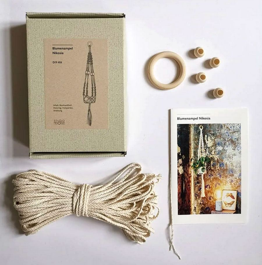 DIY-Kit Blumenampel