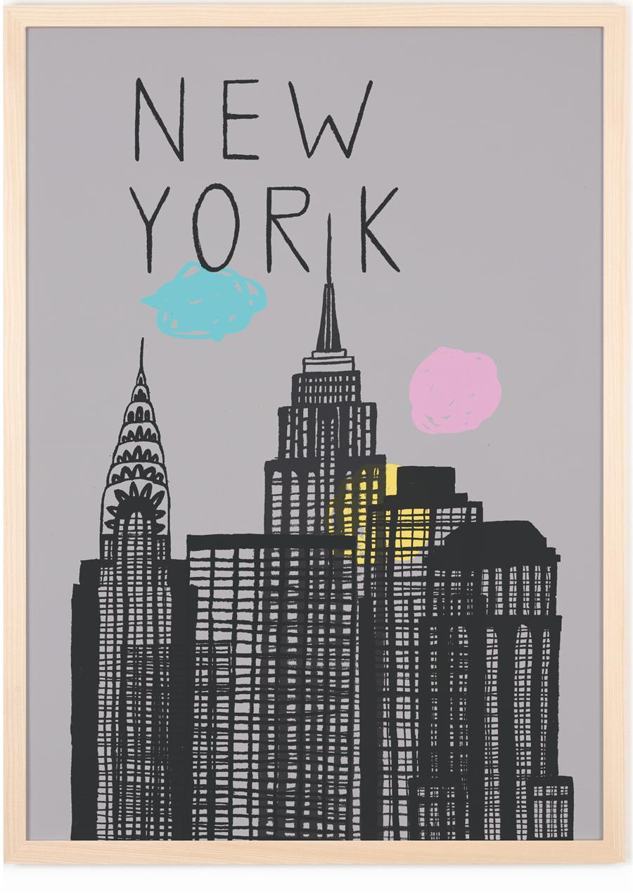 New York Poster (50 x 70 cm)