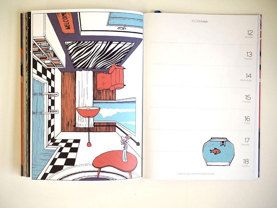 Tapir & Klotz Taschenkalender 2020