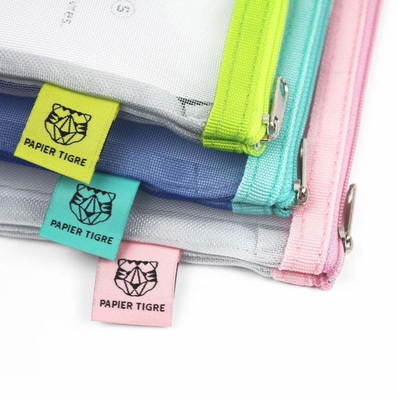 Papier Tigre Mesh Pocket S Aqua
