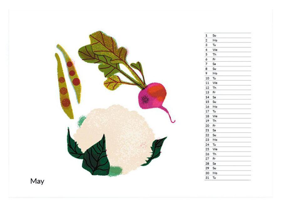 2022 Food Calendar