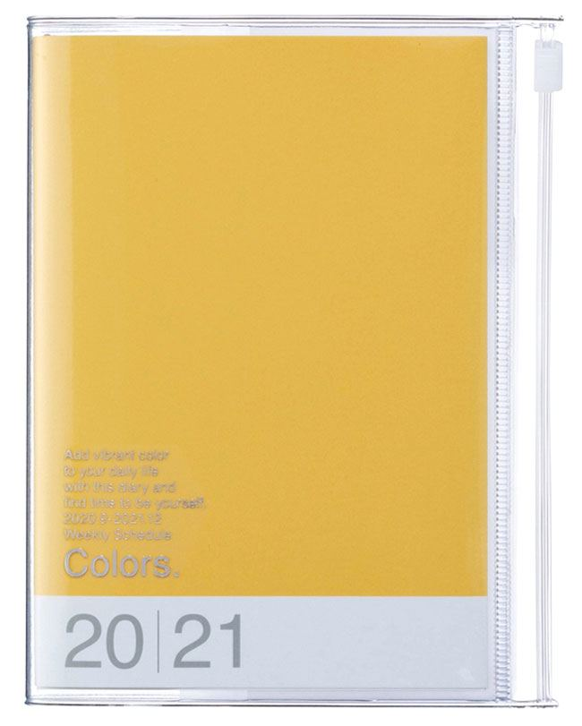 2021 Taschenkalender A6 Storage.it Yellow
