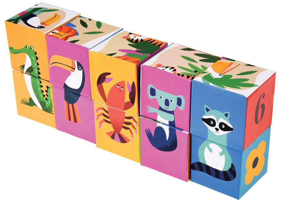Puzzle Colourful Creatures