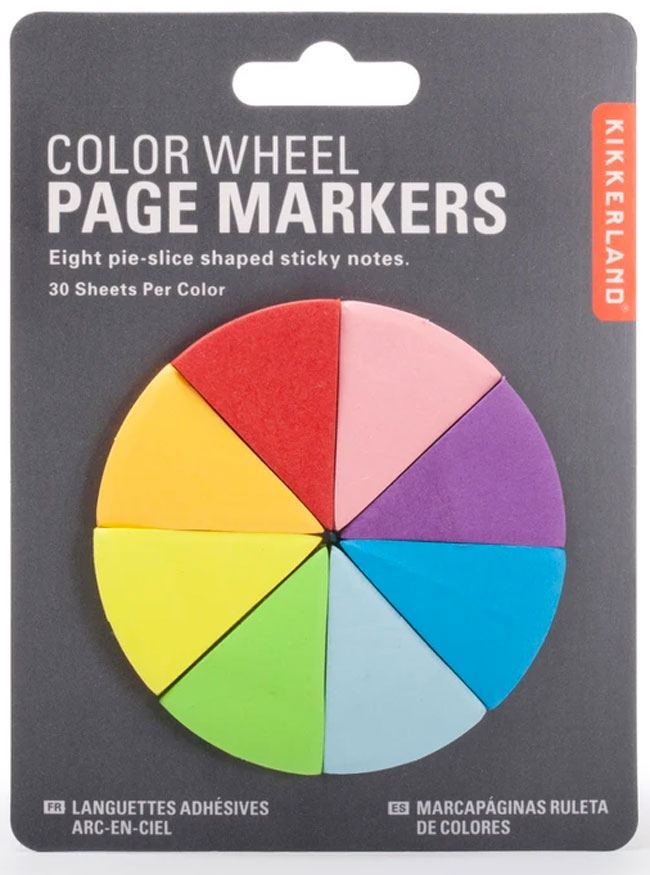Color Wheel Page Markers