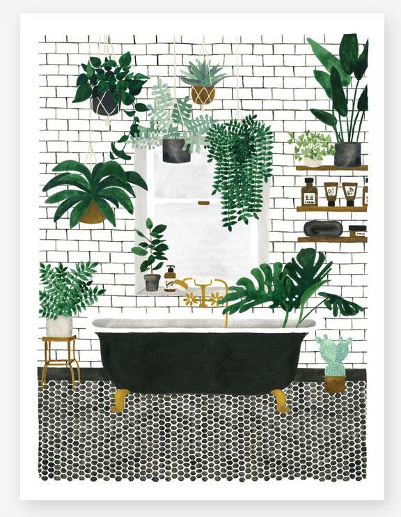 Bathroom Print (29,7 x 39,7cm)