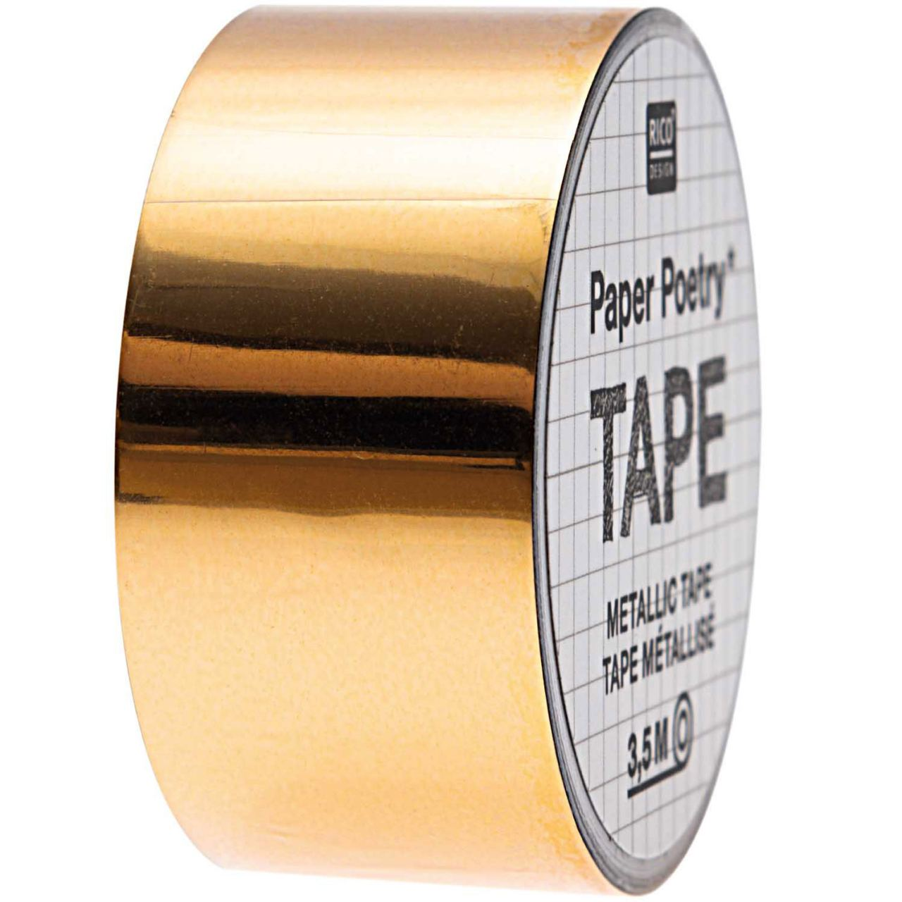 Tape Metallic Gold