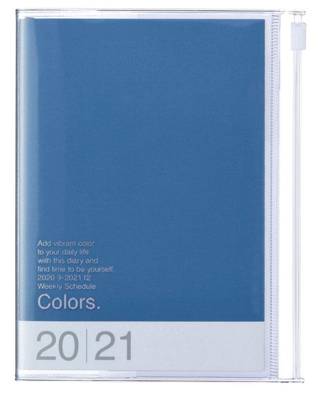 2021 Taschenkalender A6 Storage.it Blue