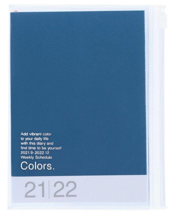 2022 Taschenkalender A6 Storage.it Blue
