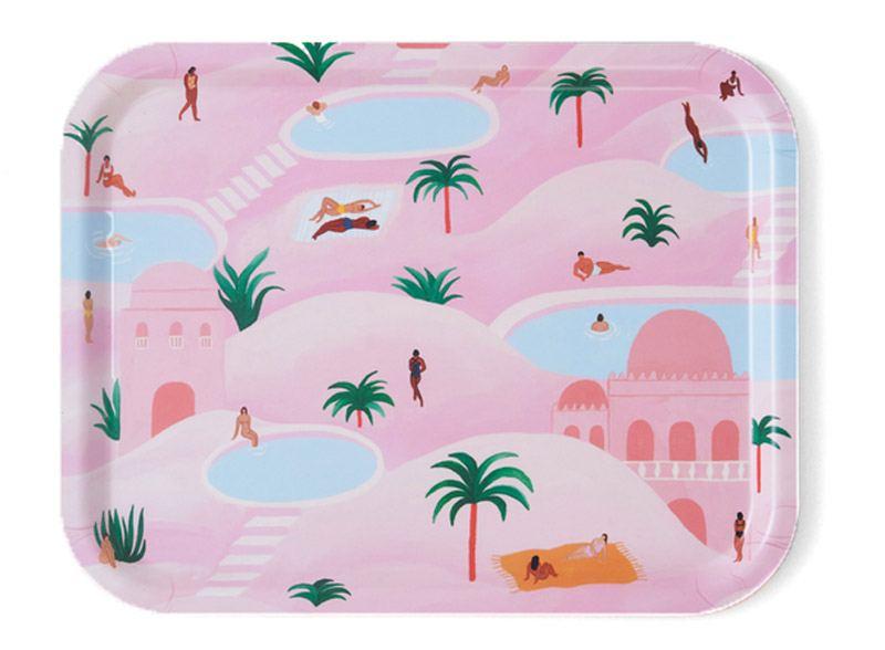 Desert Oasis Tablett