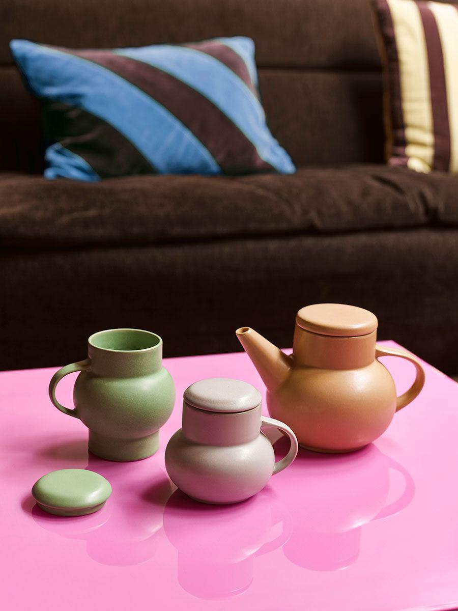 Bubble Tea Mug L Mint Green