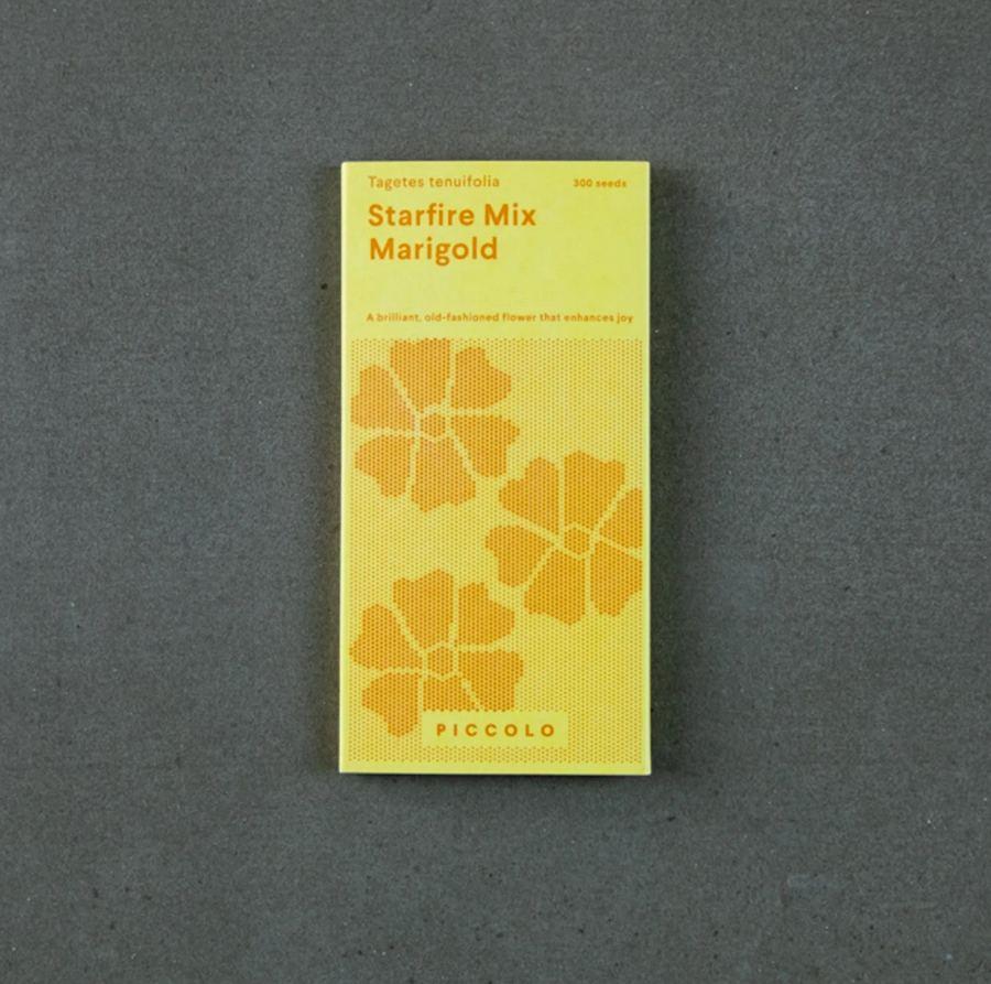Marigold Starfire Mix Saatgut