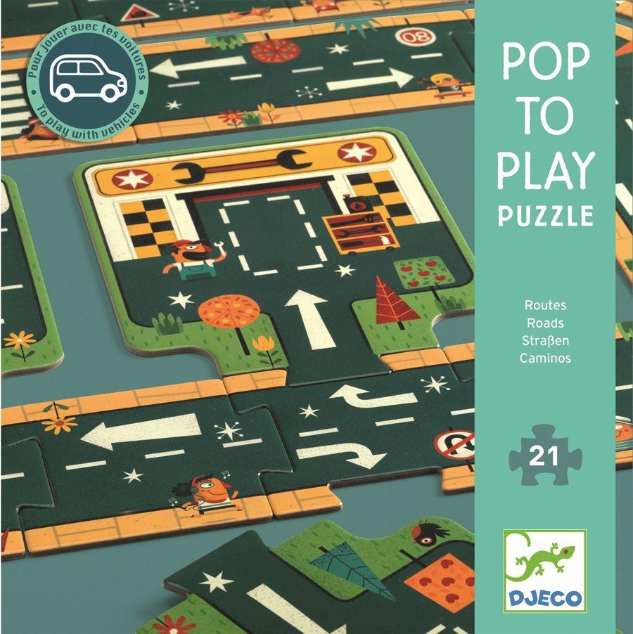 "Pop to Play Puzzle ""Straßen"""