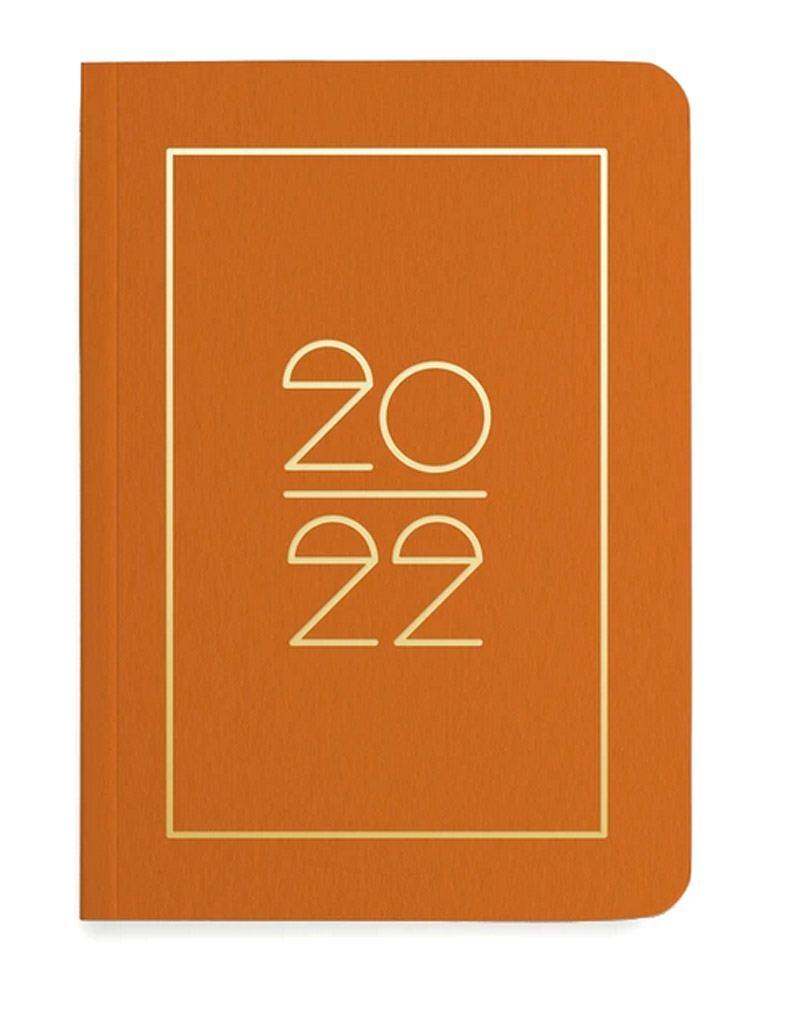 Pocket Planner 2022 Rust