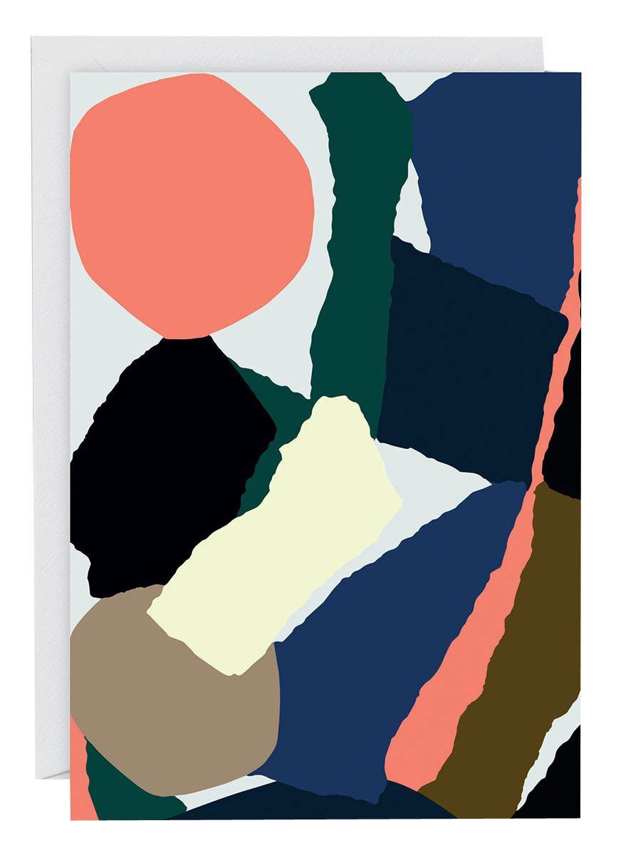 Abstract #5 Klappkarte