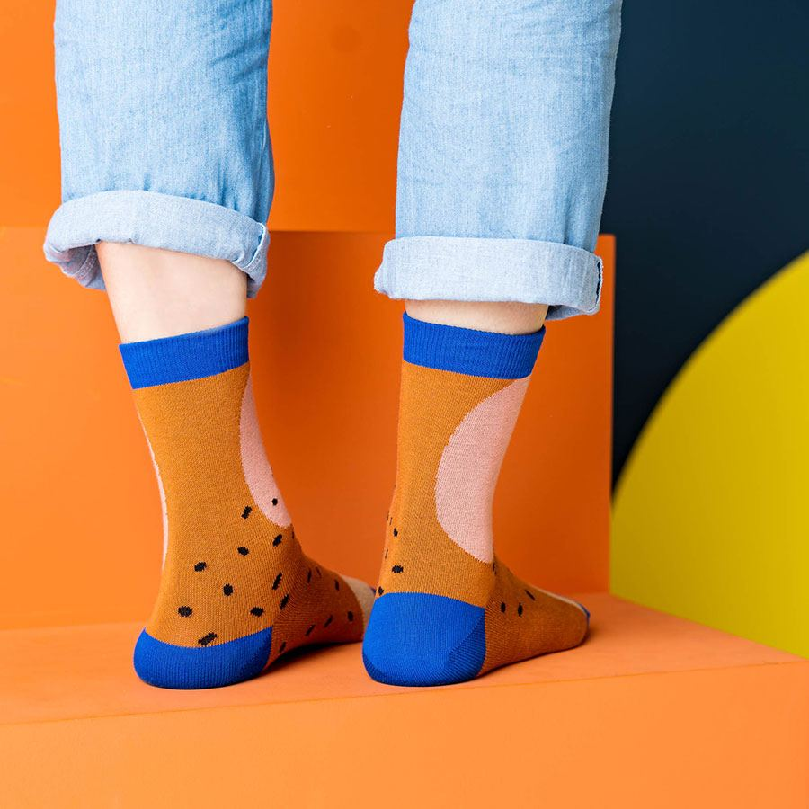 Nice Socks Shapes Hazelnut