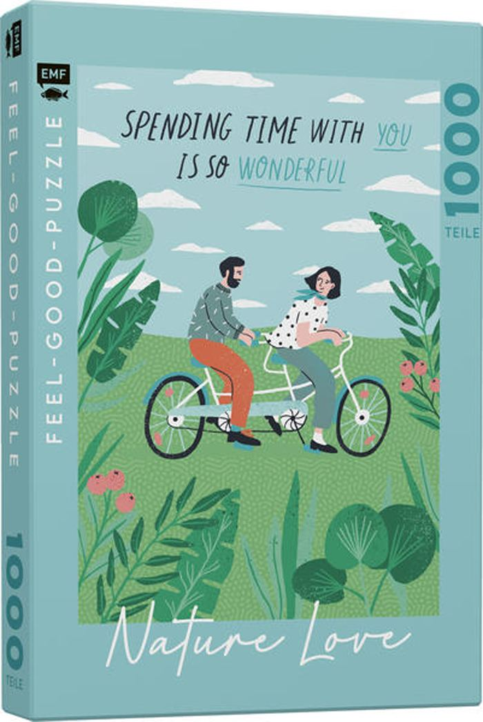 Feel-Good-Puzzle Spending Time With You 1000 Teile