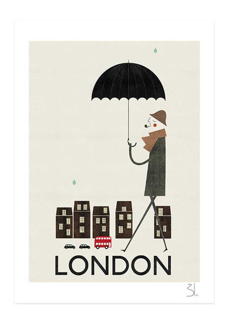 London Print (Din A3+)