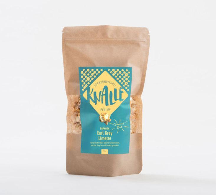 Popcorn Earl Grey-Limette