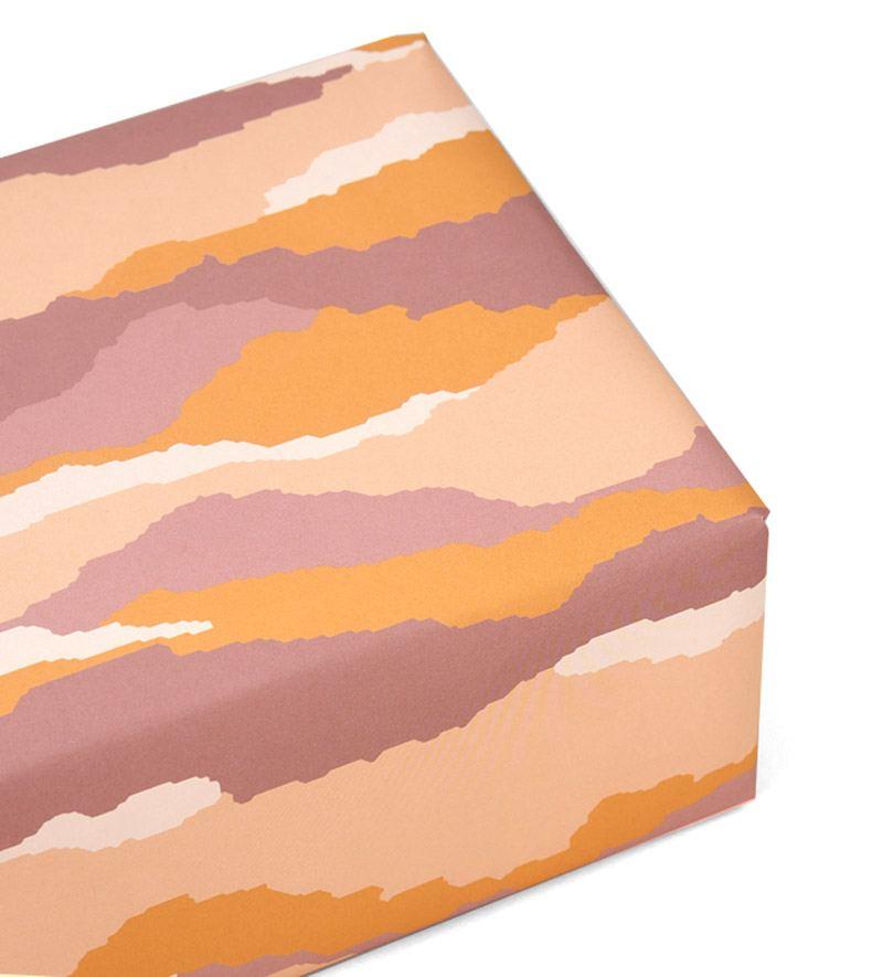 Sediment Mustard Geschenkpapier