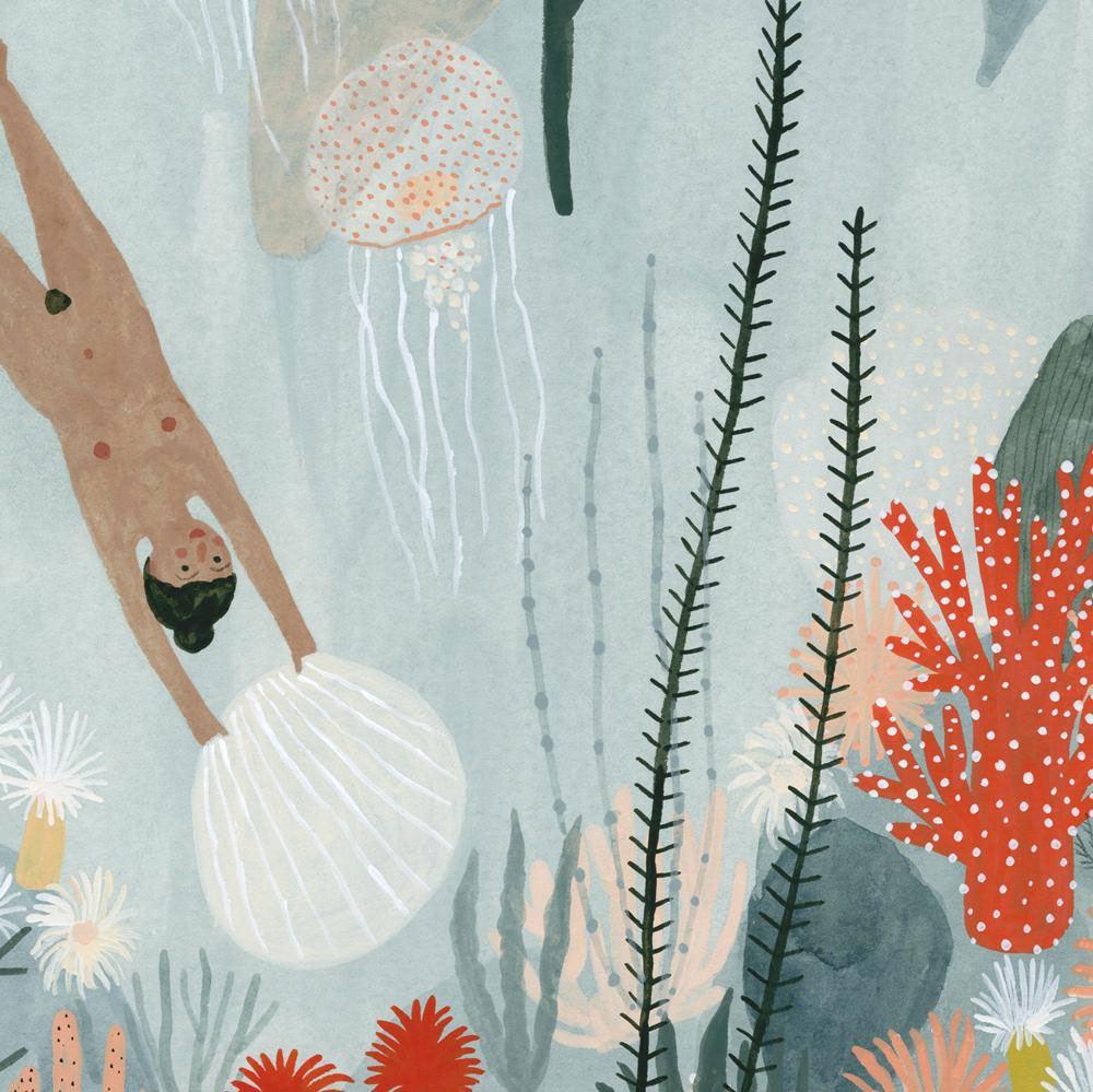 Sea Maidens Print (ca. 20 x 25cm)