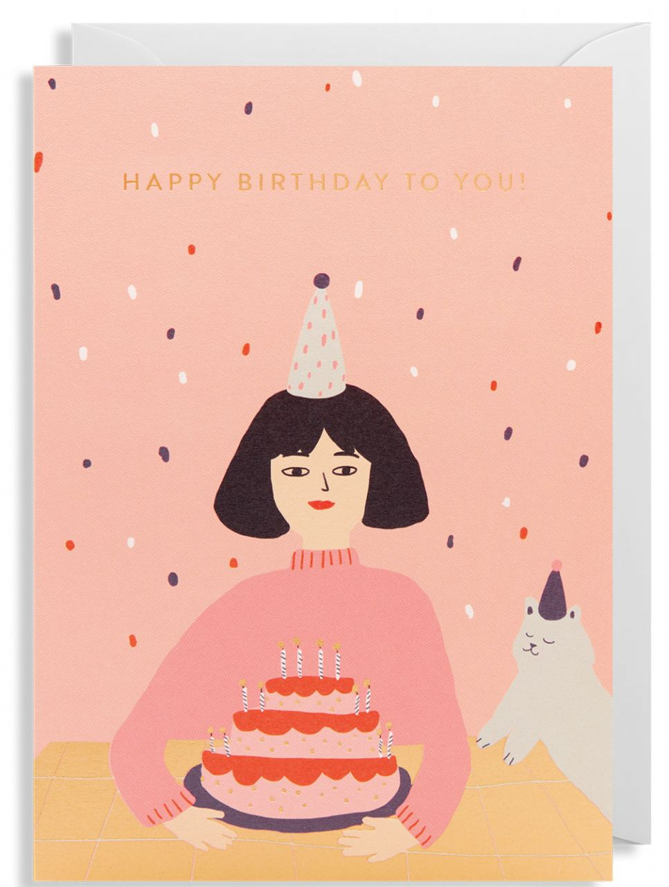 Happy Birthday To You Klappkarte